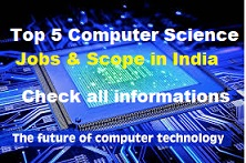 Top 5 computer science in india and scope