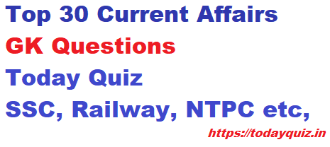 gk quiz current affairs questions with answers,